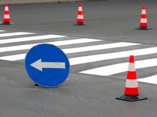 До уваги водіїв: в Ужгороді тимчасово обмежать рух на одному з перехресть