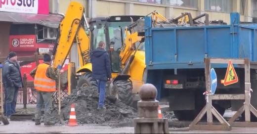 В Ужгороді замінюють водопровід для двох вулиць