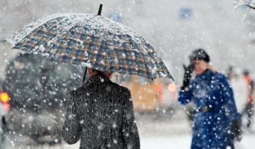 Погода на 12 грудня: похмуро та дощ зі снігом
