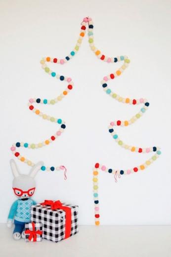 Як прикрасити домівку до новорічних свят: 23 альтернативи ялинці