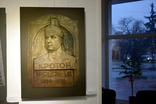 В Ужгороді відкрилась виставка відомого закарпатського скульптора