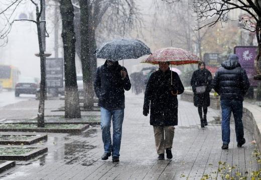 Льодяний дощ та мокрий сніг: синоптик попередила про погіршення погодних умов в Україні