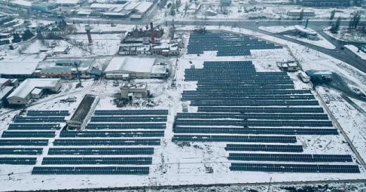 На Харківщині запустили сонячну станцію, яка забезпечить електроенергією 30-тисячне місто