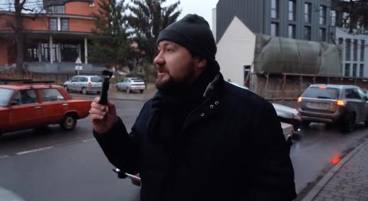 Архітектор та відеоблогер Юліан Чаплінський завітав до Ужгорода