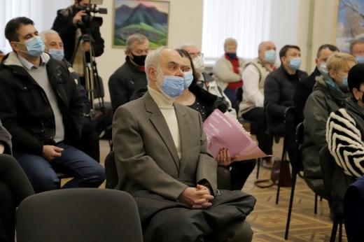 З нагоди ювілею Закарпатського народного хору в Ужгороді презентували книгу про колектив