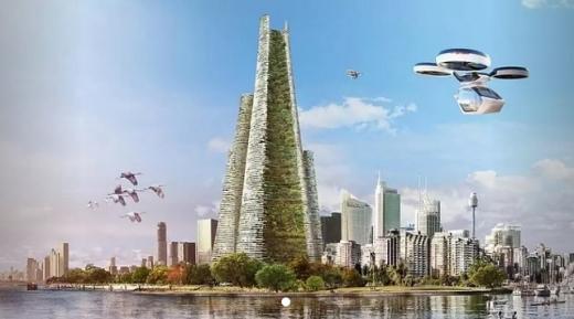 В Об'єднаних Еміратах побудують «зелене» вертикальне місто на енергії сонця і вітру