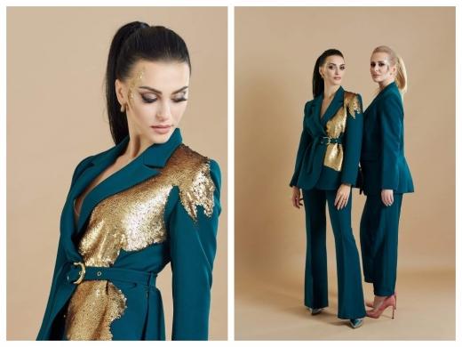 «Метали»: закарпатська дизайнерка Роксолана Новак презентувала нову колекцію