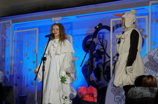 Свято наближається: засяяла вогнями головна ялинка Ужгорода