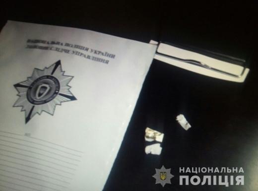 На Великоберезнянщині затримали чоловіка, який збував наркотики