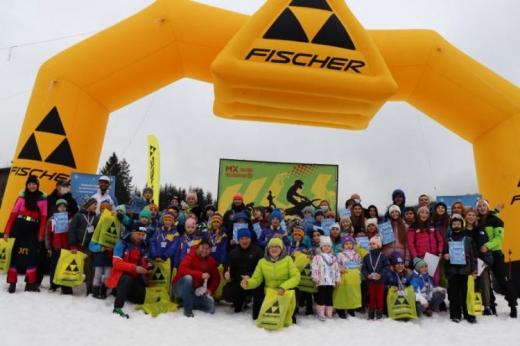На Закарпатті відбулися дитячі змагання із гірськолижного спорту