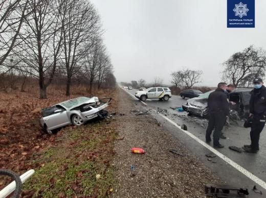 ДТП з потерпілими на Закарпатті: водій не впорався з керуванням