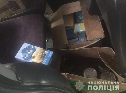 На Закарпатті з автівки викрали товару на 15 тисяч гривень