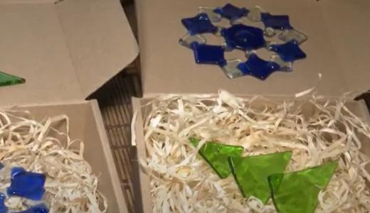 Майстри з Перечинщини виготовляють прикраси на ялинку зі скла (ВІДЕО)