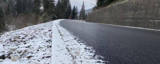 Штормове попередження: на закарпатських дорогах очікується ожеледиця