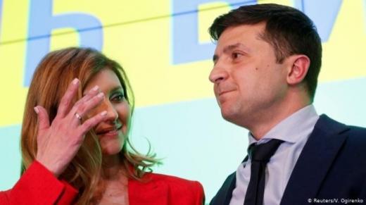 Олена Зеленська: чоловік не говорив про другий президентський термін