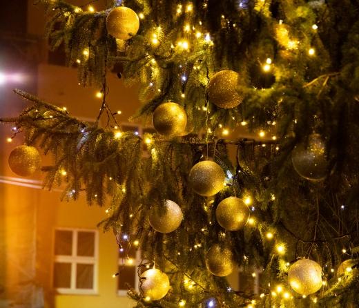 Ужгород у новорічно-різдвяних вогниках