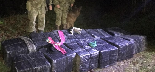 На березі Тиси прикордонники виявили пакунки з сигаретами