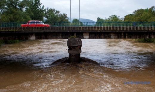 У річках Закарпаття очікується підняття рівня води