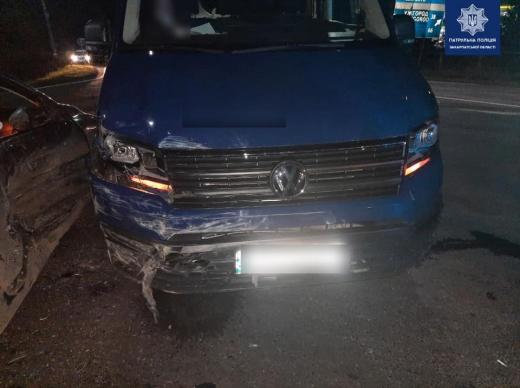 Поблизу Мукачева трапилась ДТП: є постраждалі