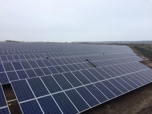 На Дніпропетровщині запустили 5-мегаватну сонячну станцію з двосторонніми модулями