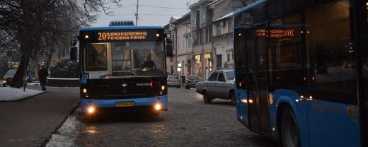 У 2021 році графік руху маршруток в Ужгороді зміниться