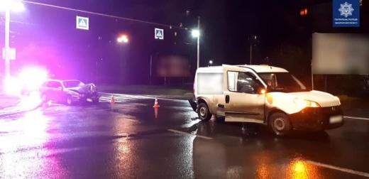 Нетверезий водій вчинив ДТП на вул. Минайській в Ужгороді