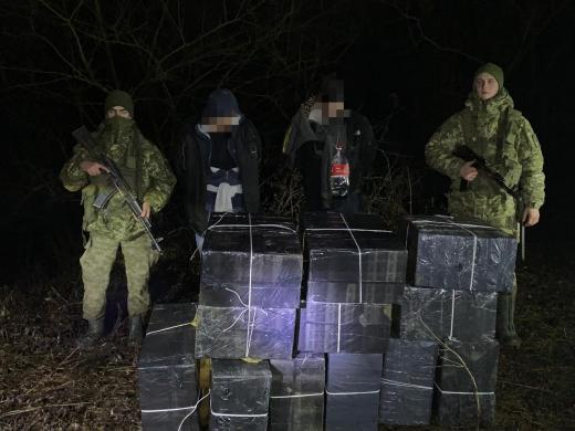 Вночі закарпатські прикордонники припинили чергову спробу контрабанди