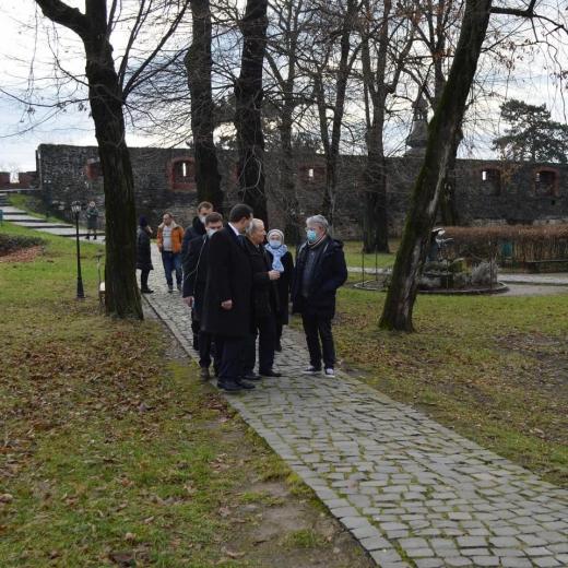 На Закарпатті побував міністр культури та інформаційної політики