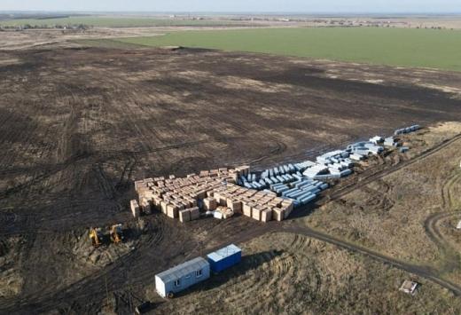У Запорізькій області турки будують потужну сонячну електростанцію