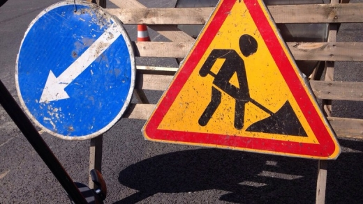 В Ужгороді через ремонтні роботи можливе ускладнення руху транспорту на двох вулицях