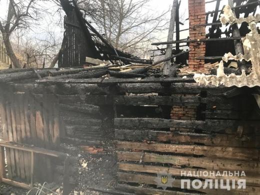На Закарпатті жінка підпалила хату свого колишнього