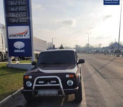 На Ужгородщині водій-порушник намагався підкупити патрульних