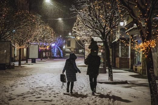 Ужгород зимовий у світлинах Сергія Денисенка (ФОТО)