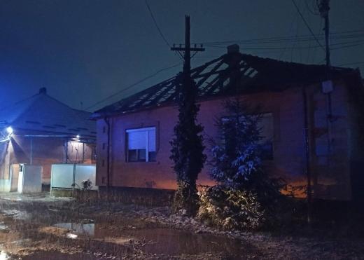 Стали відомі подробиці пожежі в житловому будинку на Мукачівщині