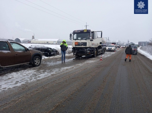 Поблизу Мукачева трапилася автопригода з потерпілими