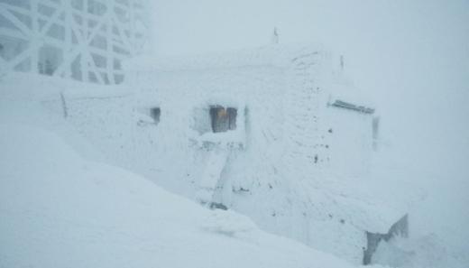 Рятувальники показали негоду на горі Піп Іван (ВІДЕО)