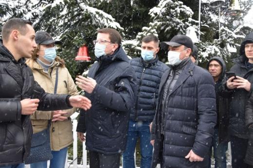 Депутати Закарпатської облради зберуться позачергово через тарифні протести
