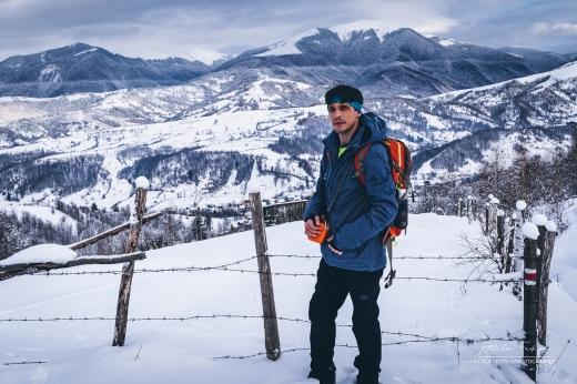Засніжені вершини Колочави – на світлинах закарпатського фотографа