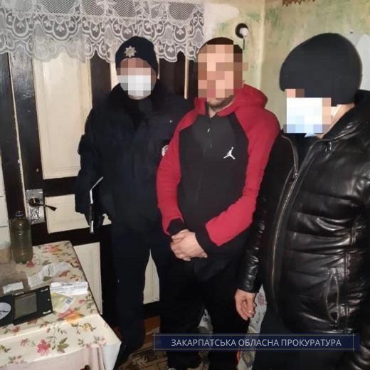 Жителя Іршавщини взято під варту за виготовлення та збут наркотиків