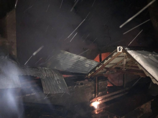 Вогнеборці ліквідували пожежу на базі відпочинку на Тячівщині
