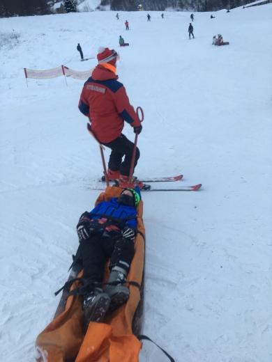 На Великоберезнянщині під час катання на лижах травмувались троє дітей
