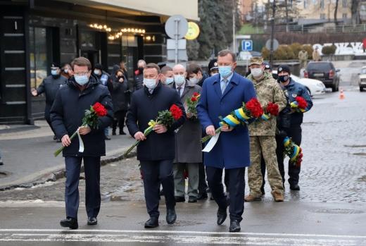 В Ужгороді відбулися урочистості з нагоди Дня Соборності України