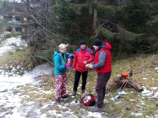 На Закарпатті рятувальники допомогли туристці, у якої під час сходження на гору погіршилось самопочуття