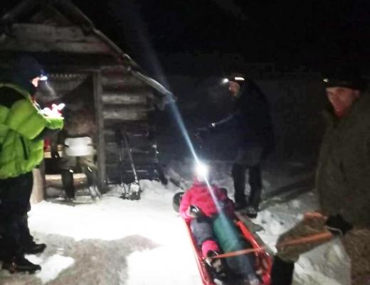 Туристці з Херсона надавали допомогу в горах на Закарпатті