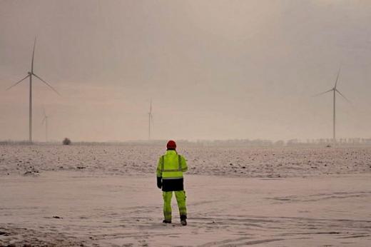 За Дністровським лиманом побудували вітроелектростанцію на 40 МВт