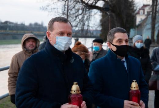 Ужгородці вшанували пам'ять жертв Голокосту