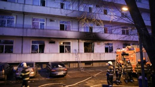 У Румунії вдруге сталася пожежа у коронавірусній лікарні, 4 загиблих