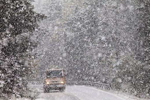 Рятувальники попереджають про мокрий сніг та хуртовини в гірській частині Закарпаття