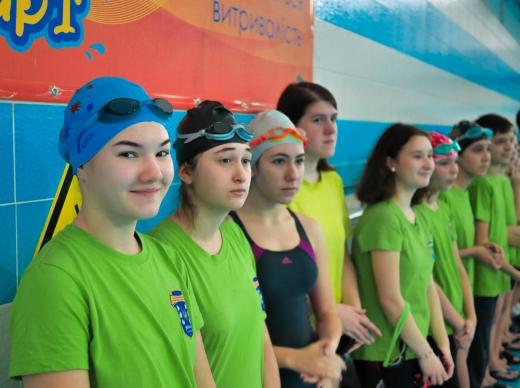 В Ужгороді проходить обласний чемпіонат із плавання