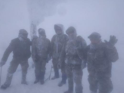 Бійці Закарпатського легіону провели 5  днів на висоті 2061 метрів (ФОТО)